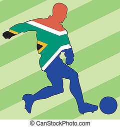 football colors of South Africa