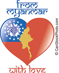 From Myanmar with love