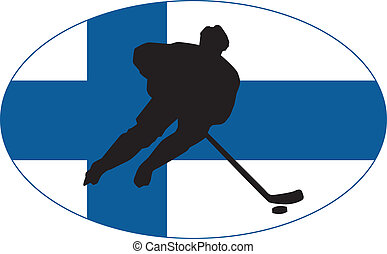 Hockey colors of Finland