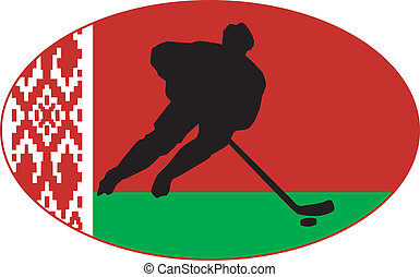 Hockey colors of Belarus