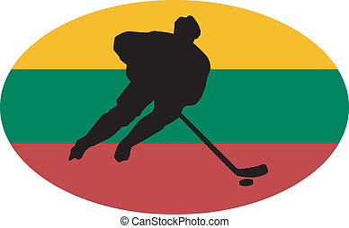 Hockey colors of Lithuania