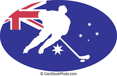 Hockey colors of Australia
