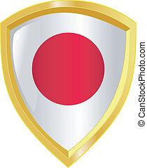 golden emblem of Japan