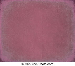 Pink scratched ribbed canvas background