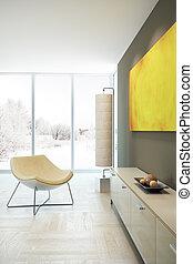 design of lounge room - modern design of lounge room