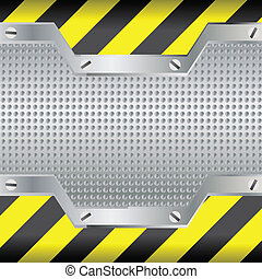 Background with black and yellow lines