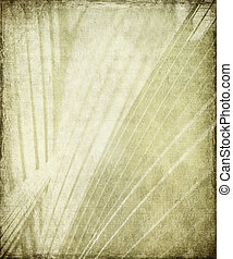 Grunge grey and white sunbeam art deco background - Grunge...