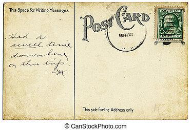 vykort, Årgång, gammal