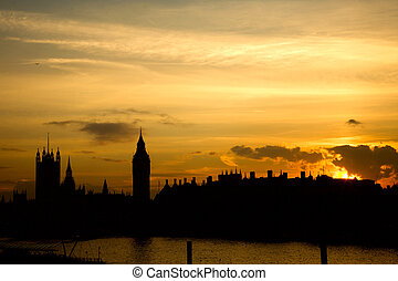 London Landscape Westminster - Westminster seen from...