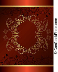 Abstract Frame - Illustration of abstract frame background.