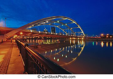 The Frederick Douglass-Susan B. Anthony Memorial Bridge over...