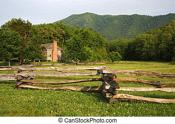 Dan Lawson Place, Cades Cove, Great Smokey Mountains...