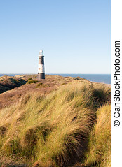 Spurn Point Lighthouse - Photo of Spurn Point lighthouse in...