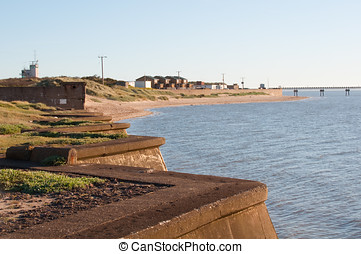 Spurn Point Village View - Photo of Spurn Point Village in...