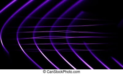 Frequency Abstract Loop Purple - HD