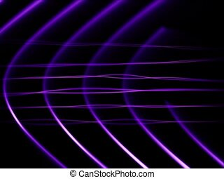 Frequency Abstract Loop Purple - sd