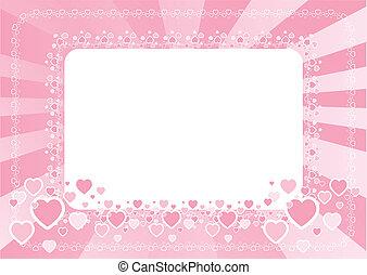 Frame for love