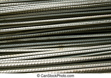 Steel rod background