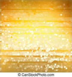 Light squares on yellow background - Llight squares on...