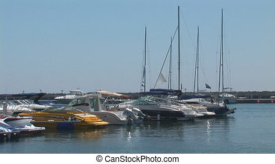 haven 2 - yachts in the port