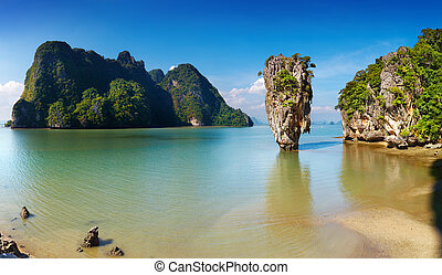 Phang Nga Bay, Thailand - Phang Nga Bay, James Bond Island,...