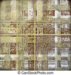 Grungy oriental decorative textured background