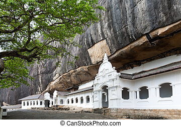 Golden Temple of Dambulla - Dambulla cave temple, the...