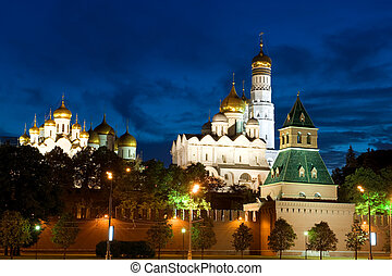 Kremlin close up - Russia The Moscow Kremlin in the morning