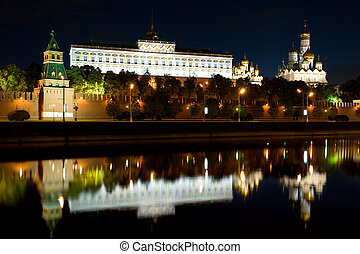 Kremlin in the Moscow city