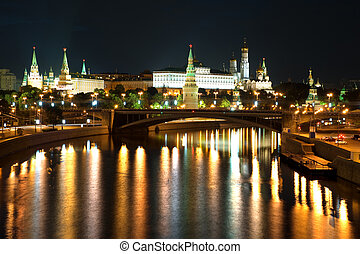 Russian Kremlin in the Moscow - Russia The Moscow Kremlin in...