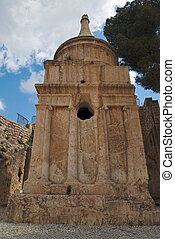 Ancient Tomb of Absalom in Jerusalem