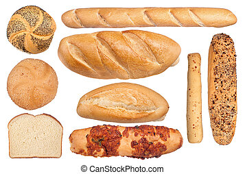 Bread collection - A collection of bread types inclufing...