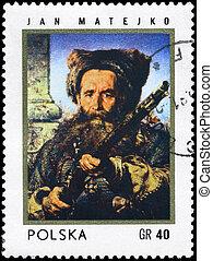 POLAND - CIRCA 1972 Ostap Dashkevych - POLAND - CIRCA 1972:...