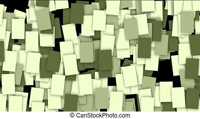 square paper and mosaics wallpaper