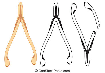 Wishbone Illustrations and Clip Art. 21 Wishbone royalty ...