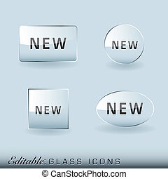 Glass icon collection