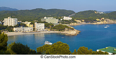 Paguera Beach, Mallorca - Paguera is a beach resort in the...