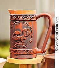 Ceramic pottery at Horezu, Romania - Traditional Romanian...