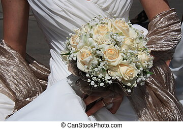 Bride\'s bouquet