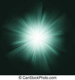 Lens flare burst background. EPS 8 vector file included