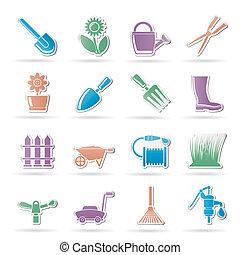 Garden and gardening tools