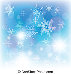Winter background - Beautiful winter background with...
