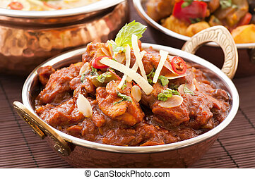 Chichen Madras with Rice