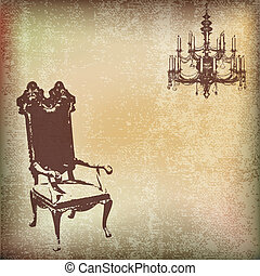 Vintage Chair Background