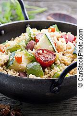 Kuskus with Vegetable