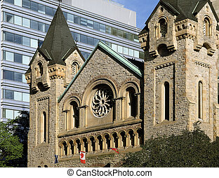 Stone church in Toronto
