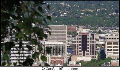 Portland Oregon Downtown Skyline