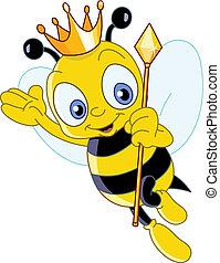 王后, 蜜蜂