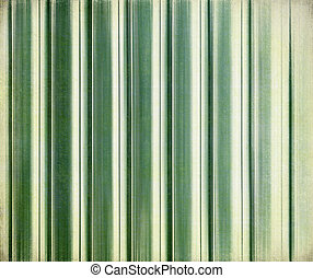 Green stripes on paper