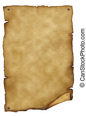 Old paper texture.Antique background for text on white
